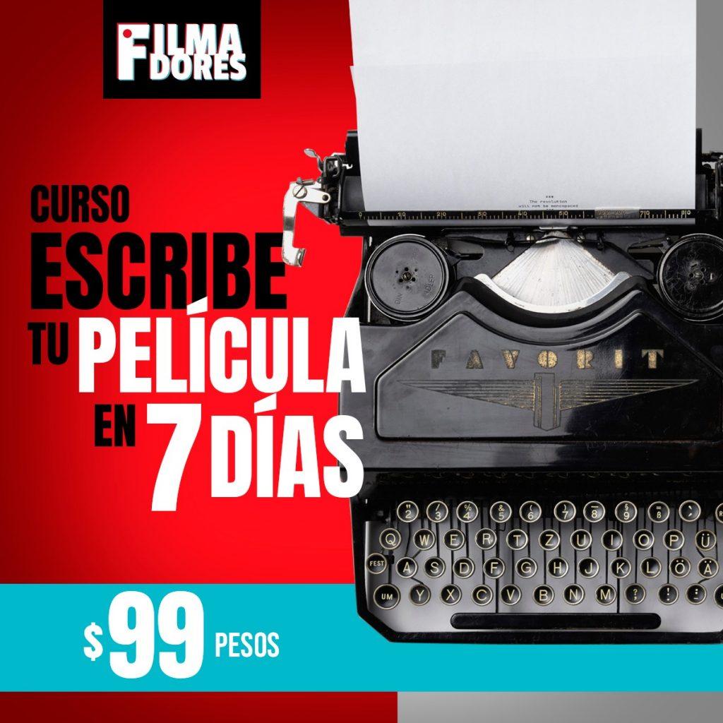 maquina de escribir - filmadores