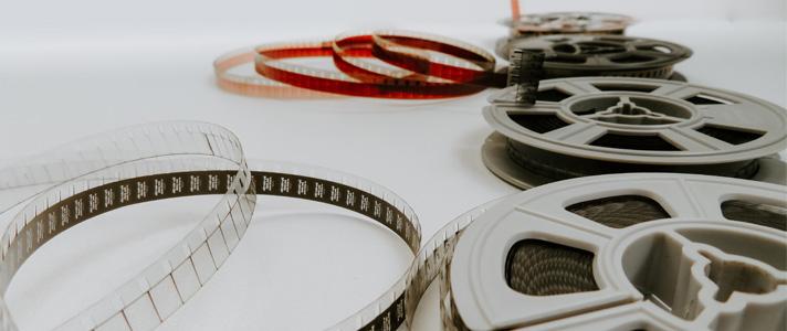 Cinta de película- Filmadores